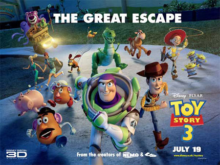 Toy Story 3 Poster, Great Escape
