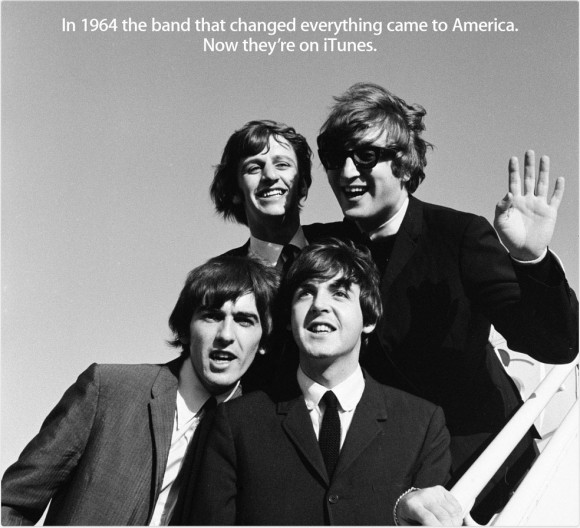 iTunes, Beatles Comes to America