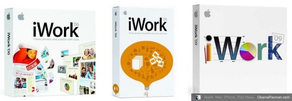 Apple iWork 05 06 09