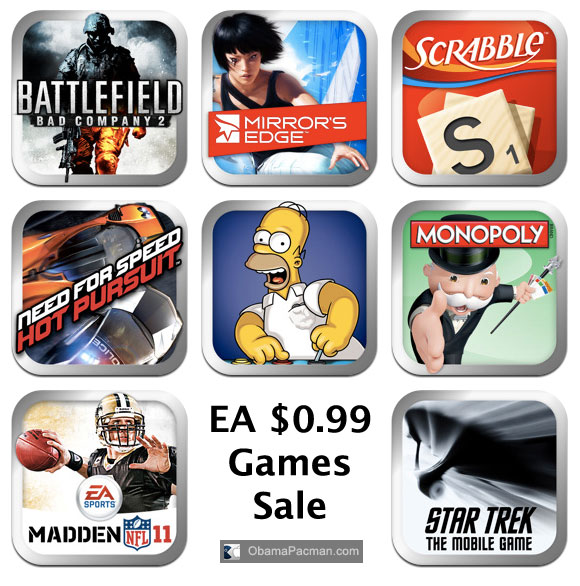 EA iPhone iPod touch Games Download