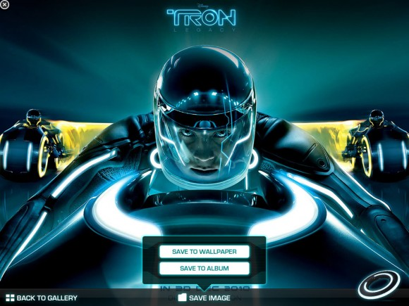 Free Wallpaper, iPad Tron Legacy iAd