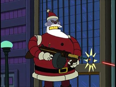 Futurama Robot Santa Claus