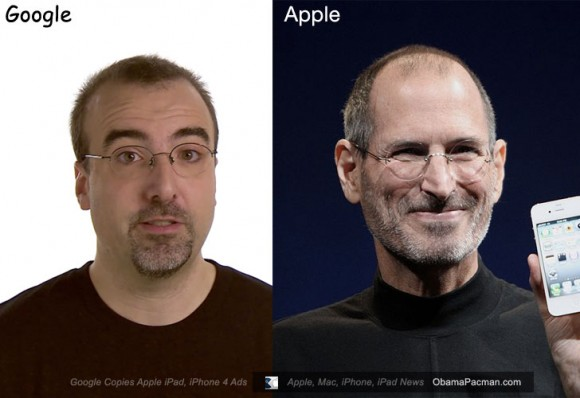 Google Android Employee copies Steve Jobs Fashion