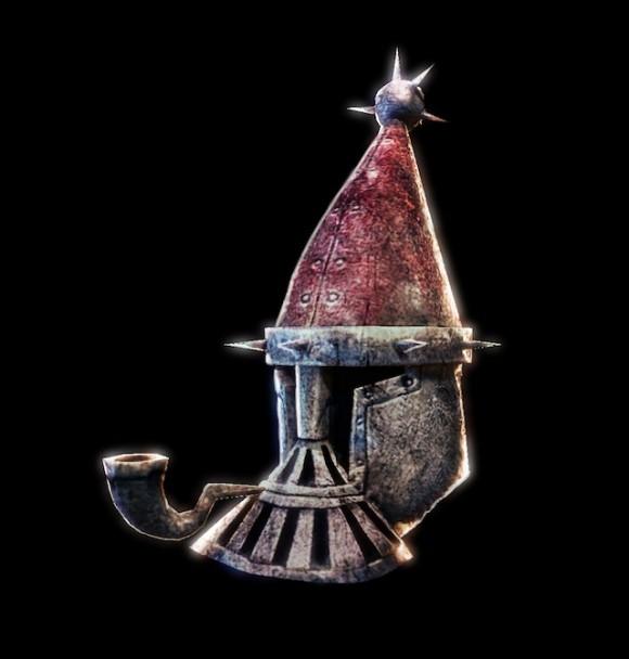 Infinity Blade Santa Helm