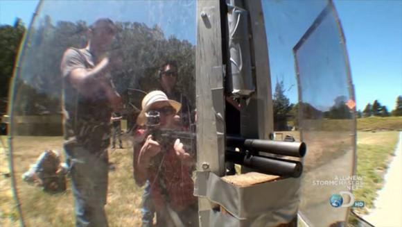 Mythbusters Keri Kari Byron shotgun