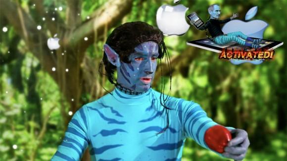 Navi Avatar bites Apple forbidden fruit