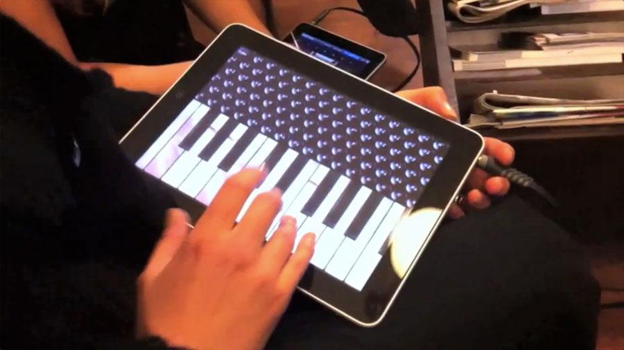 Piano Accordio Pro Ipad Band Viisi Madonna Material Girl