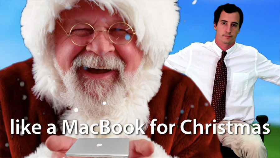Santa Mac Christmas Obama Pacman