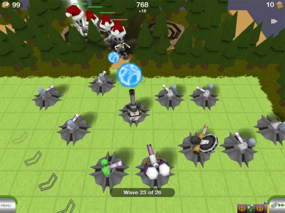 Tower Madness iPad iPhone RTS Defense Game