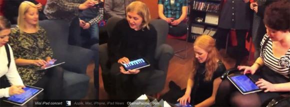 Viisi 5 women iPad Madonna Material Girl concert