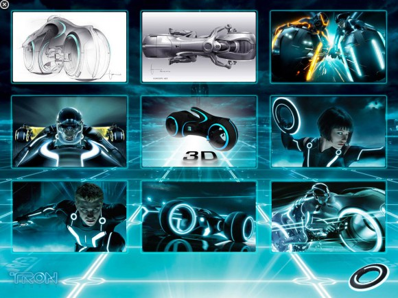Wallpaper Concept Art download, iPad Tron Legacy iAd