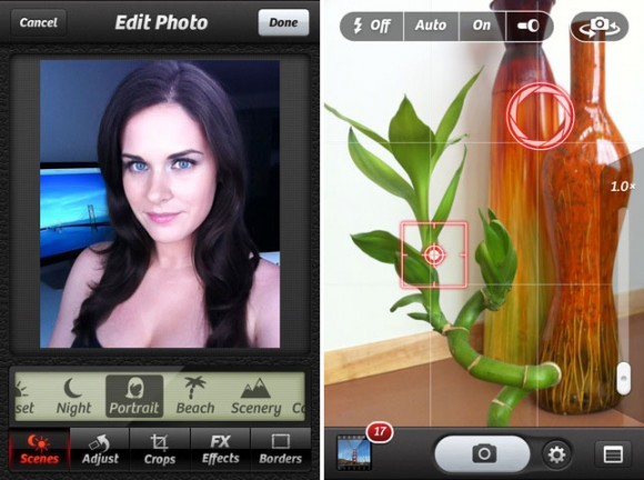iPhone Camera+ 2.0 App