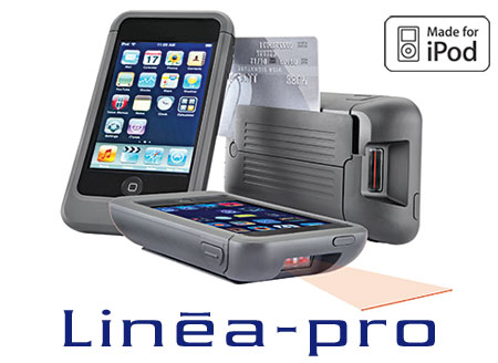 iPod touch Point of Sale POS case, Linea Pro