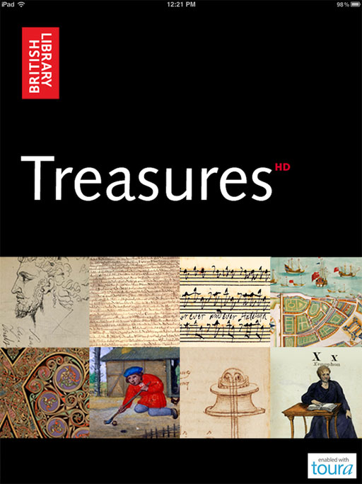 British Library Treasures HD iPad App