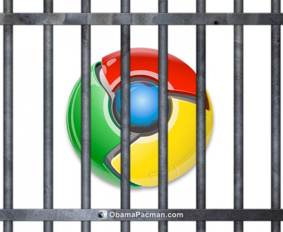 Google Chrome Browser Jail Bars