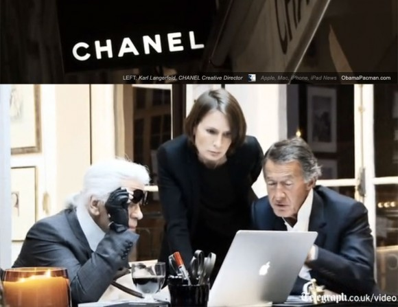 Mac, Karl Langerfeld, CHANEL Couturier