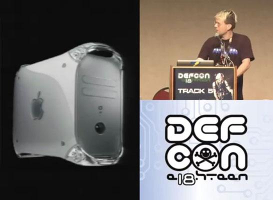 PowerMac G4, Hacker DEFCON Mac Recovery