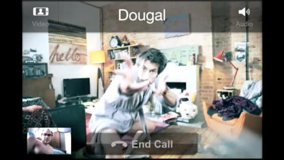 Skype iPhone 4 Video Call