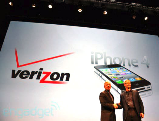 Verizon iPhone, Apple COO Tim Cook, VzW CEO Dan Mead