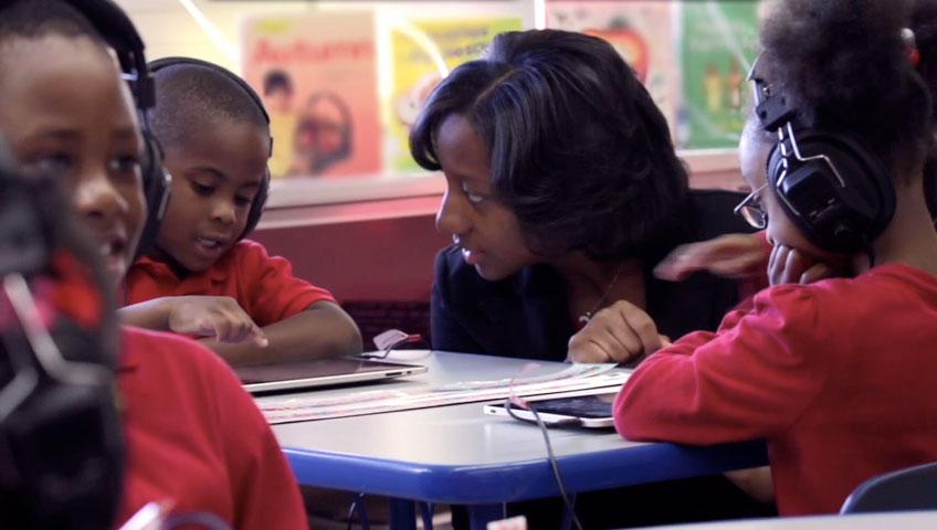 Ipad helps kids learning