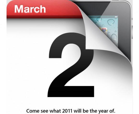 Apple iPad 2 Invitation March 2011