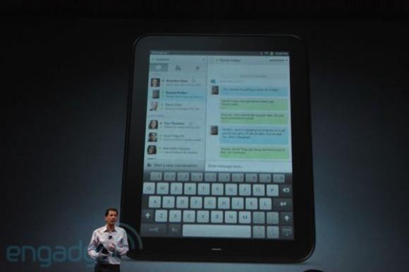 HP TouchPad CopyPad Keyboard