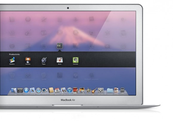 Mac OS X 10.7 Lion MacBook Air