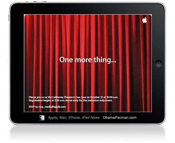 One More Thing iPad 2 Apple Special Event Keynote