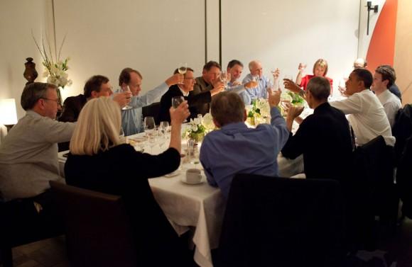 Steve Jobs Obama Dinner