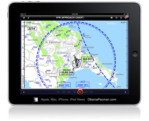 iPad Jeppesen App, FAA Approved Pilot Electronic Flight Bag (EFB)