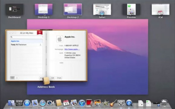 Address Book, OS X Lion 10.7 Developer Preview