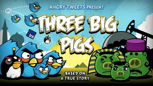 Angry Bird vs Three Big Pigs