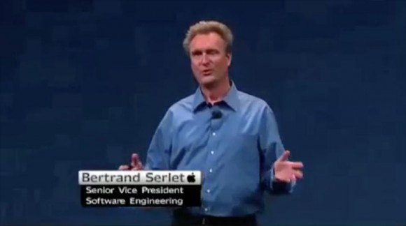 Bertrand Serlet, WWDC Apple Keynote, senior vice president of Software Engineering