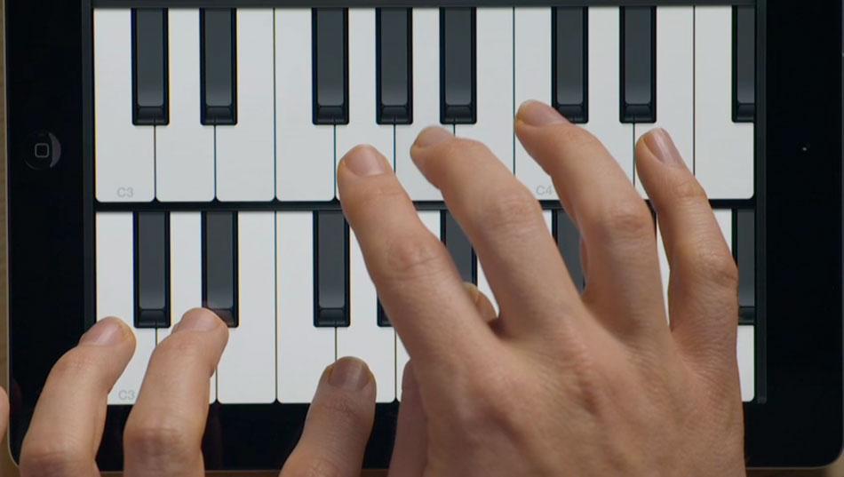 Piano Garage Band : Double piano garageband ipad obama pacman