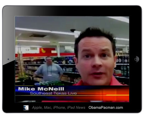 First iPad 2 Broadcast News