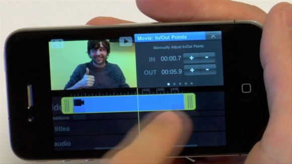 HD Video Editor, Vimeo iPhone App