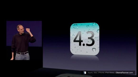 Steve Jobs iOS 4.3