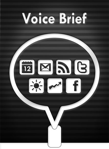 Voice Brief iPhone Text to Speech