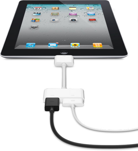 iPad 2 1080p HD HDMI video adapter