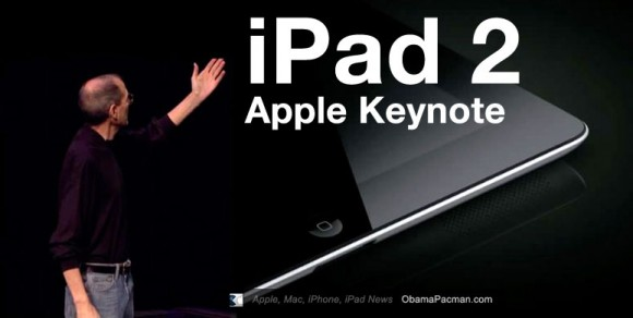 iPad 2 Apple Keynote Steve Jobs
