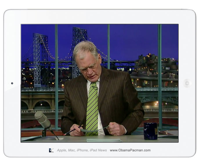 "Letterman Top 10. Video: ""Top Ten Reasons to Buy"