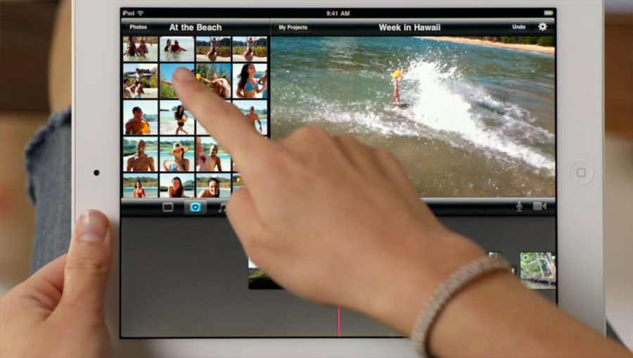 iPad 2 iMovie video editing | Obama Pacman
