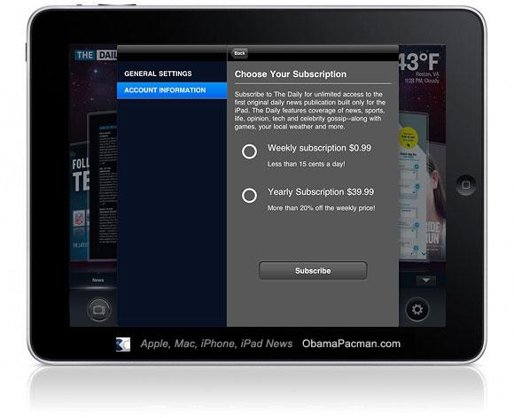 iPad Subscription