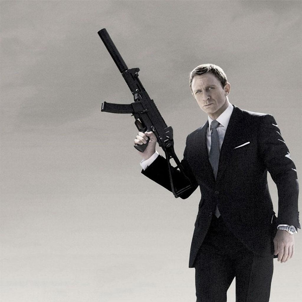 james bond 007 logo wallpaper
