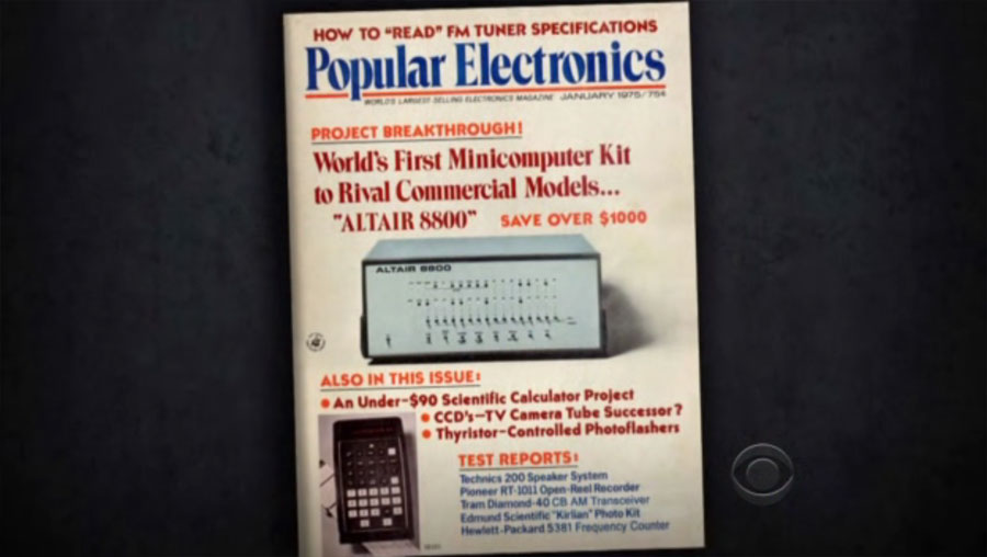 Altair 8800, 1975 January Popular Electronics Cover | Obama Pacman