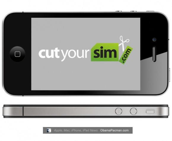 Cut Your Sim iPhone 4 Factory Unlock