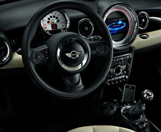 mini cooper iphone
