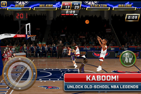 NBA Jam EA Sports iPhone