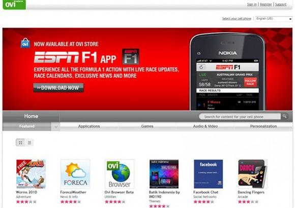Nokia Ovi ESPN F1 App FAIL