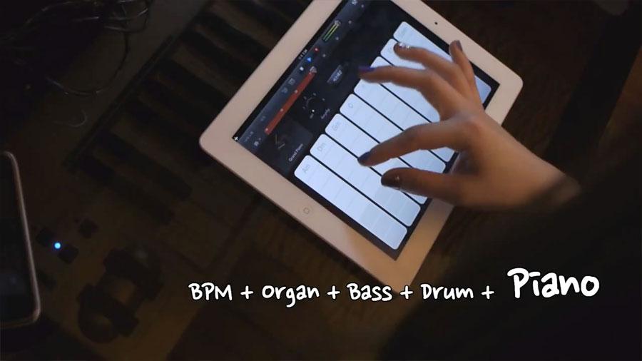 Piano Garage Band : Piano applegirl ipad garageband obama pacman